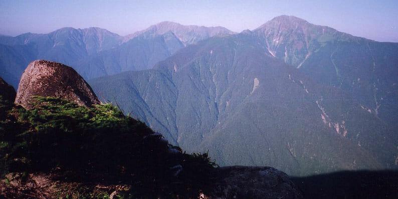 南アルプス 白峰三山