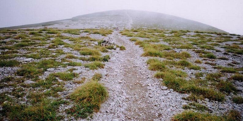 北アルプス 双六岳への道