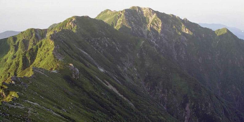 中央アルプス南駒ケ岳